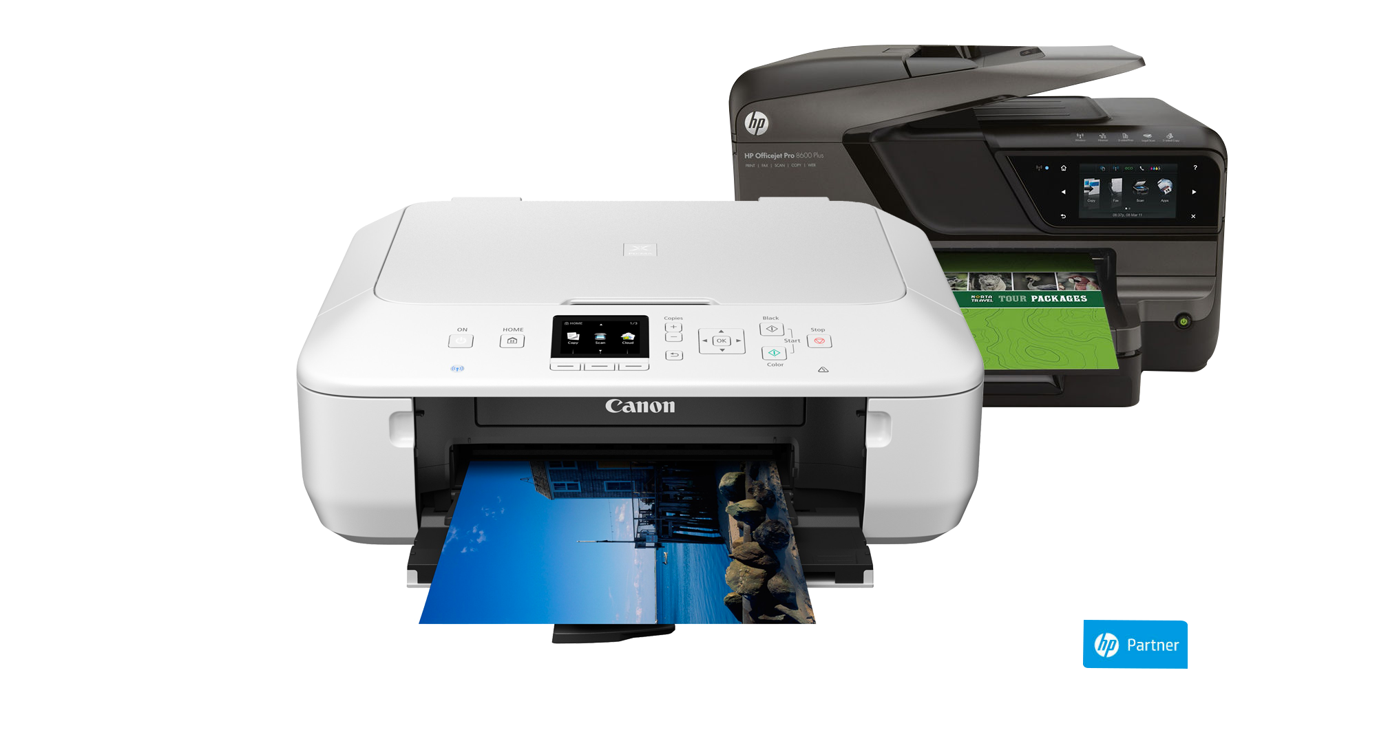 Inkjet and Laser Printers